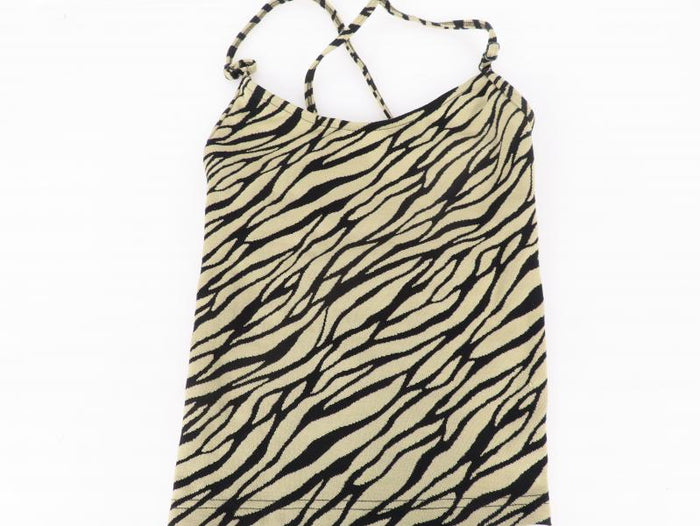 Becca Spaghetti Strap Crop Top Young Miss Size M