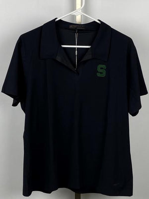 Nike Fit-Dry Michigan State Women's Golf Polo