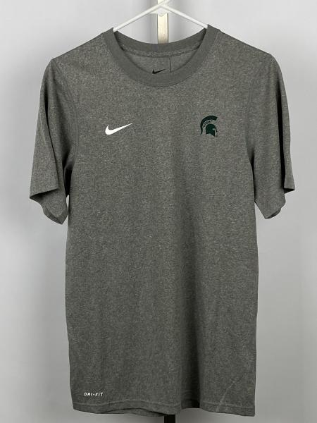 Nike Grey Dri-Fit Athletic Short Sleeve T-Shirt Size XS