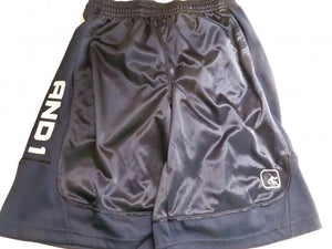 AND1 Navy Blue Mens Basketball Shorts Size S
