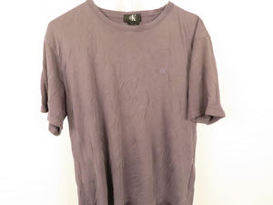 CK Dark Gray Mens Casual Short Sleeve T-Shirt Size L