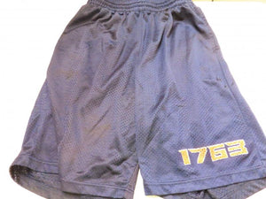 Alleson Navy Blue Athletic Shorts Mens Size M