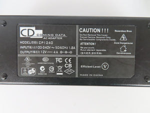 Coming Data 48W Power Supply CP1240 12V 4A