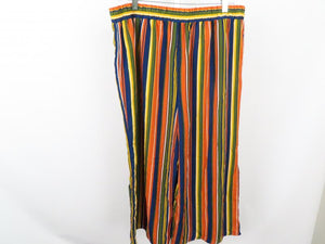 Ophelia Roe Multi Color Capri pants Women's Size L