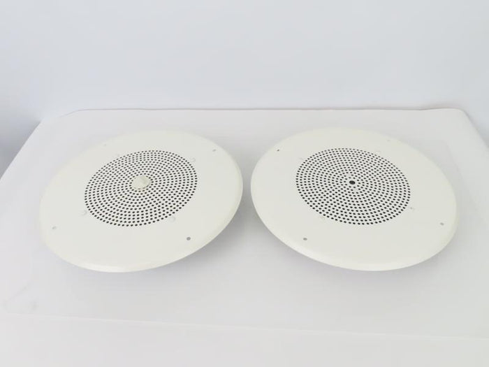 Pair of Miscellaneous Ceiling Loudspeakers w/ Ceiling Covers