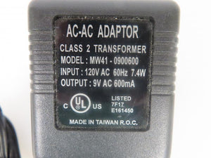 Ahead 5.4W Power Supply MW41--900600 9V 0.6A