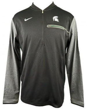 Nike Black & Gray Dri-Fit Half-Zip Pullover Jacket Men's Size X-Small