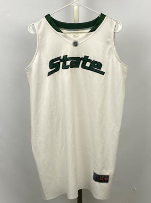White Michigan State Women's Basketball Jersey