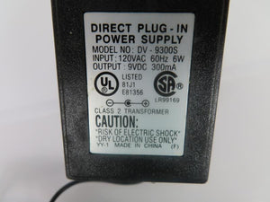 Southwestern Bell 2.7W Power Supply DV-9300S 9V 0.3A
