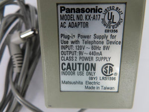 Panasonic 4W AC Adapter KX-A17 9V 0.44A