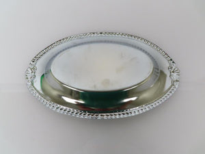 Darry Wilson Chrome Hors d'oeuvres Serving Dish