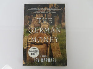 The German Money by Lev Raphael (2003) Signed