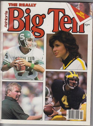 Athlon's The Really Big Ten 1985 Annual -- Michigan, Michigan State Cover (1985)