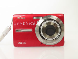 Kodak M763 7.2MP Digital Camera *Untested*