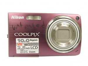 Nikon Coolpix S550 10MP Digital Camera *Untested*