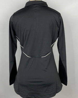 Nike Gray Dri-Fit 1/4 Zip Pullover Women's Size Medium