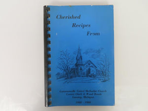 Cherished Recipes from Gunnisonville United Methodist Church (1998)