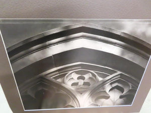 "Black and White MSU Unframed Photo on Poster Board ""Auditorium Art"""