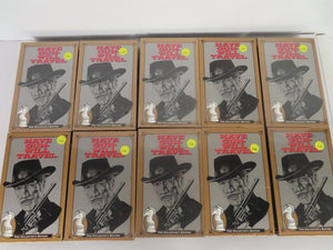 10 Have Gun Will Travel Collector's Edition VHS tapes (1995)