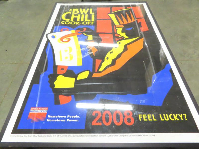 BWL Chili Cook-Off 2008 Framed Poster