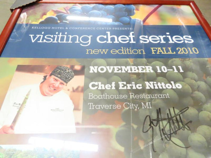 Visiting Chefs Fall 2010 Framed Poster