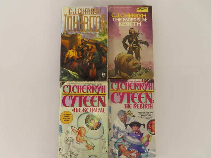 Lot of 4 C. J. Cherryh Books by C. J. Cherryh (1978-1996)