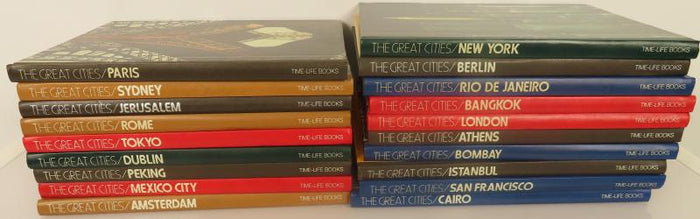 The Great Cities Time-Life 19 of 25 Volumes (1976)