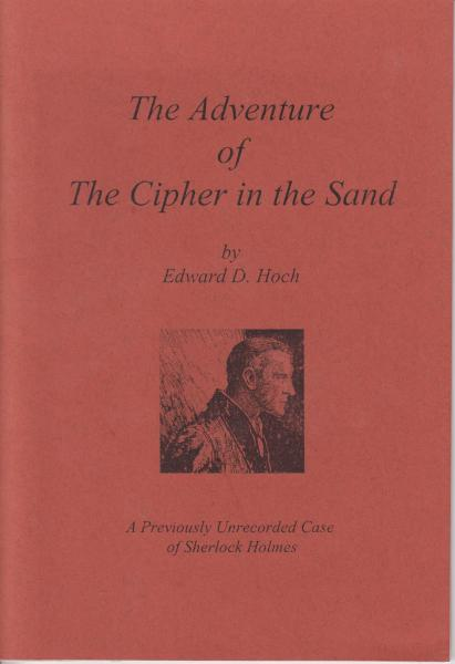 The Adventure of the Cipher in the Sand (The Mysterious Sherlock Holmes #4) by Edward D. Hoch (1999) Limited Printing