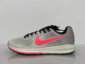 Nike Grey Air Zoom Structure 21 Women's Running Shoe