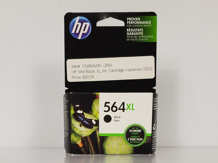 HP 564XL CN684WN Black Inkjet Print Cartridge