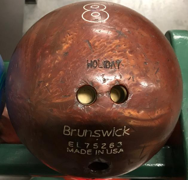 Brunswick Brown 8 lb. Bowling Ball