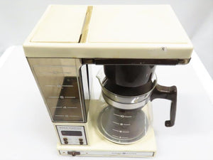 Vintage Beige GE Electric Brew Starter Coffee Maker
