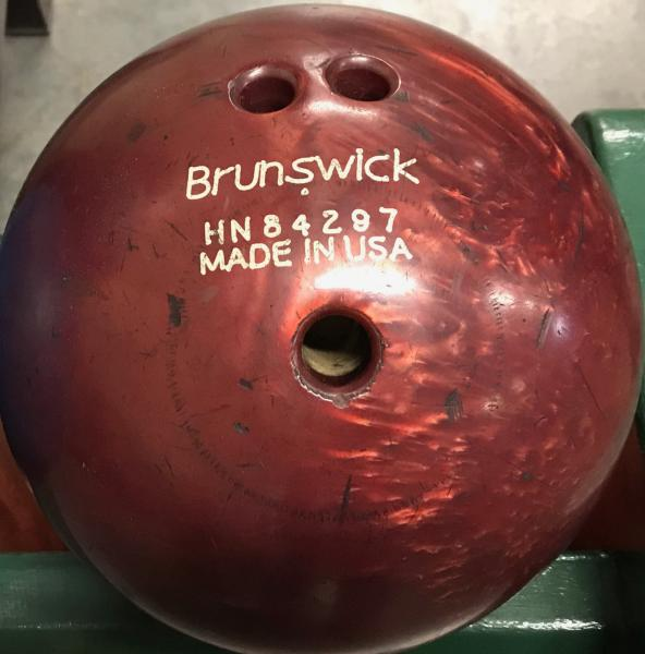 Brunswick Brown 7 lb. Bowling Ball
