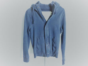 Abercrombie & Fitch Blue Hooded Jacket Men's Size S