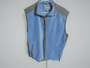 American Eagle Outfitters Blue Vest Jacket Men's Size M