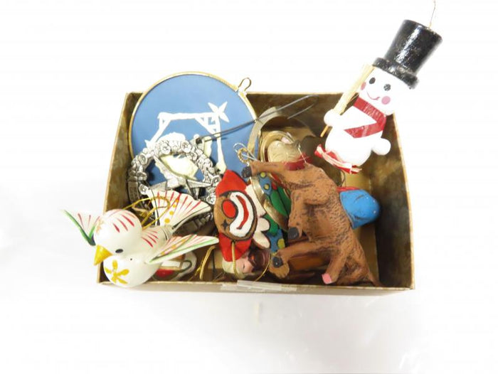 Small Box of Holiday Tree Ornaments