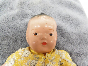 Antique 1930s-1940s Unmarked Stuffed Doll
