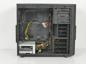 Thermaltake Versa H22 Mid Tower ATX Case with 400W Power Supply