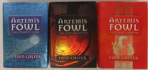 Artemis Fowl First US Editions: The Eternity Code (Book 3), The Opal Deception (Book 4), The Lost Colony (Book 5) by Eoin Colfer