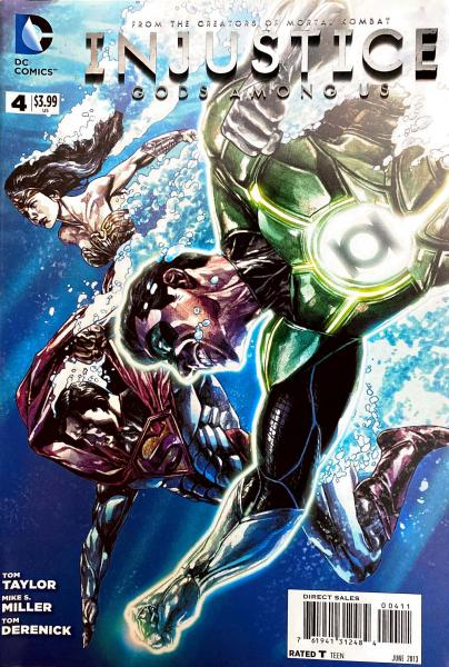 Injustice Gods Among Us #4