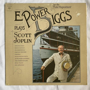 E. Power Biggs Plays Scott Joplin on the Pedal Harpsichord LP