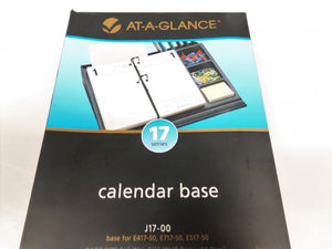 At-A-Glance Black Calendar Base