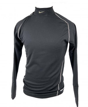 Nike Black Training Compression Mock Long-Sleeve T-Shirt Men's Size XXL