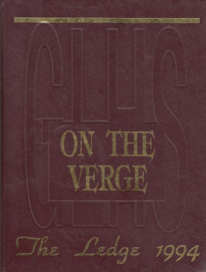 Grand Ledge (MI) Yearbook: The Ledge; On the Verge (1994)