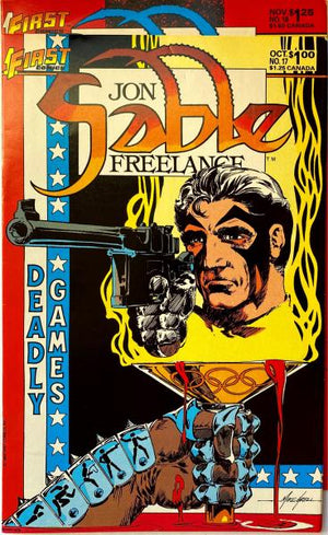 Jon Sable Freelance Vol 17-18