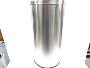 Commercial Zone Half Moon 8 Gallon Trash Can