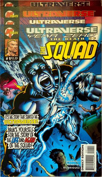Ultraverse Year Zero The Death of the Squad 1-4