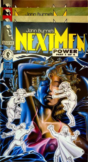 John Byrne's Next Men Power 1-4