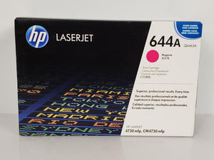 HP 644A Q6463A Magenta Toner Cartridge NEW