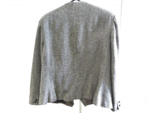 Gilmor Heathered Gray Women's Blazer Size 14